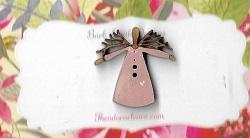 Mini Twig angel pink 25mm