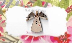 Mini twig white angel 25 mm