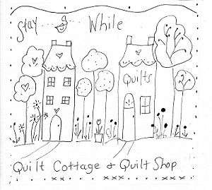 Quilter's Cottage Illustrated stitch