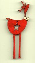 RED Star Deer 7cm  ( stock due in this week 22/02/18