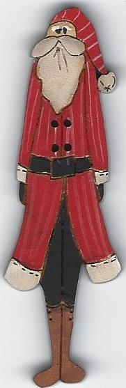 Santa Christmas 7cm