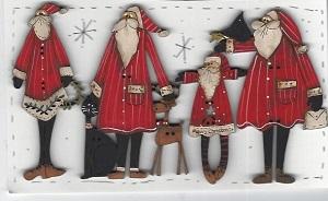 Santa Bunch #1