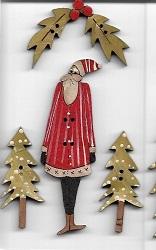 Santa Card #1