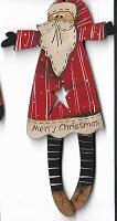 Santa star cut away