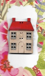 House Squatters House Red roof 4cm