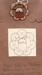 Plum Pudding Stitchery