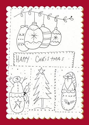 Baubles..Christmas Sampler