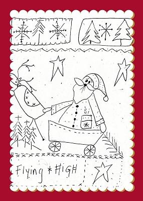 Flying High Christmas Sampler