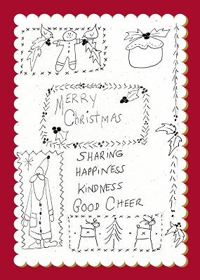 Share Happiness Christmas Sampler