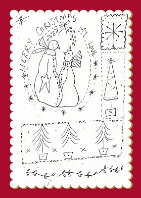 Snow Folk Christmas Sampler