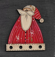 Thread Keeper Santa  7cm tall