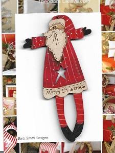 Merry Star Santa 12cm