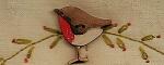 Bird x Robin button